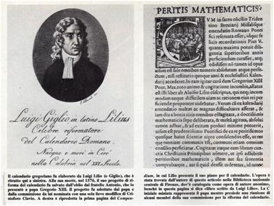 Riforma Calendario Gregoriano.Il Calendario Gregoriano 2